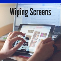 Wiping Screens