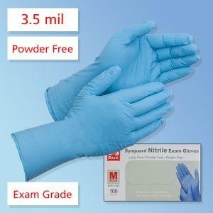 Medical Exam Nitrile Gloves