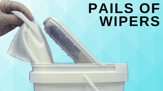 PAILS OF WIPERS