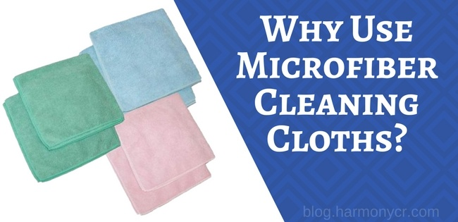 Why Use Microfiber Cleaning Cloths?