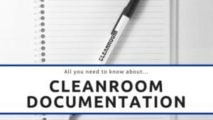cleanroom documentation