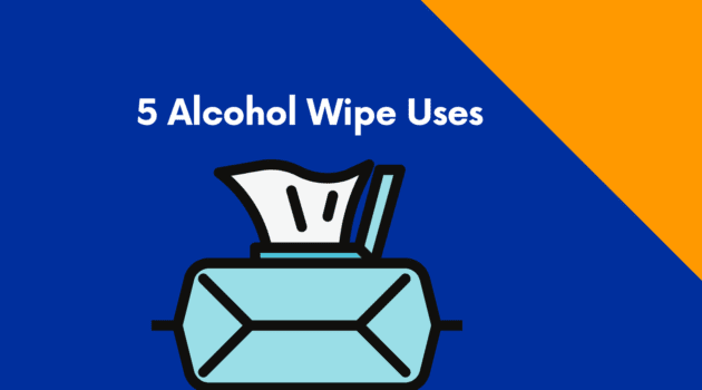alcohol wipe uses