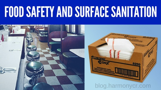 Food Safety and Surface Sanitation Tips