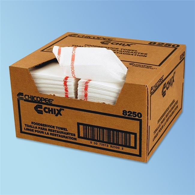 Chix Medium-Duty Foodservice Towels with Microban