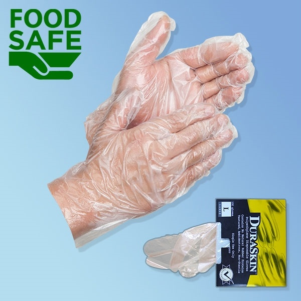 Polyethylene Food Service and Handling Gloves
