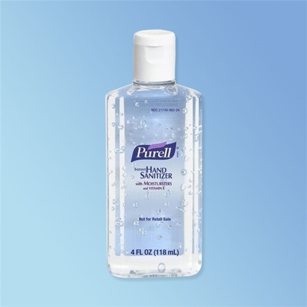 Purell Instant Hand Sanitizer 4 oz Bottle with Flip Cap