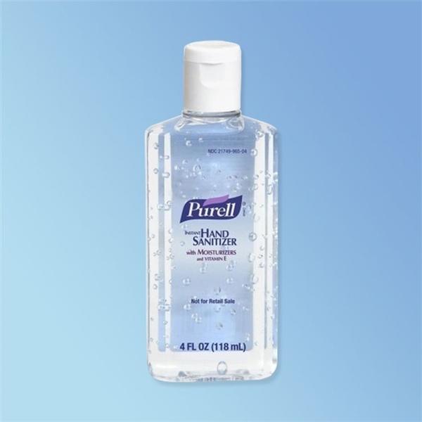 Purell Instant Hand Sanitizer 4 oz Bottle with Flip Cap