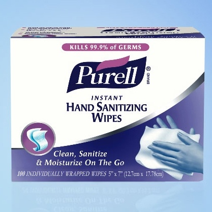 Purell Sanitizing Wrapped Hand Wipes