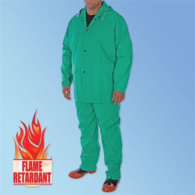 Flame-retardant clothing [safety apparel]