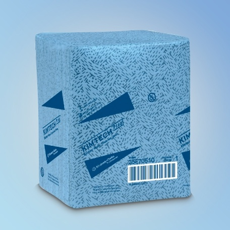 "Kimtech Prep 33560 KimTex Wipes, 12.5"" x 13"""