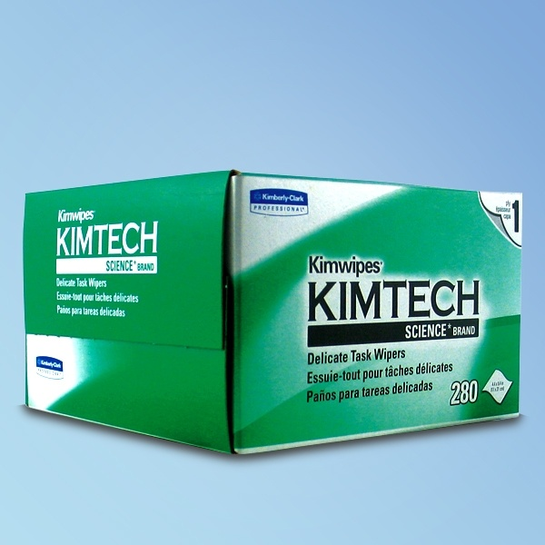 "Kimtech Delicate Task Wipes, 1-Ply, 1-Ply, 4.5"" x 8.4"""