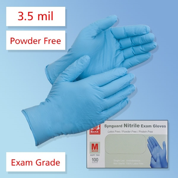 SynGuard Nitrile Medical Gloves