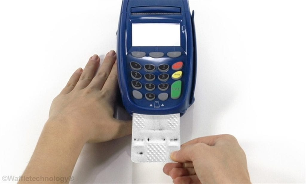 Waffletechnology Smart Card Reader Cleaning Card