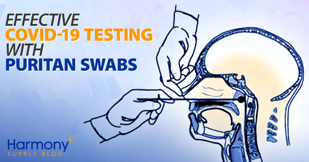 Effective COVID-19 Testing with Puritan Swabs