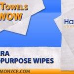 Shop Towels That Wow: Sontara Multi-purpose Wipes
