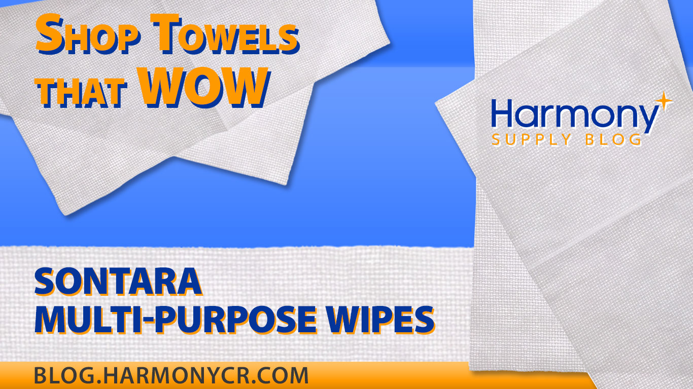Shop Towels That Wow: Sontara Multi-purpose Wipes