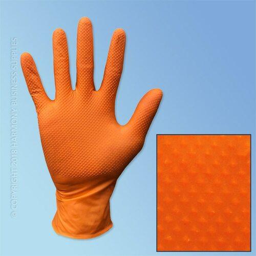 orange-nitrile-gloves